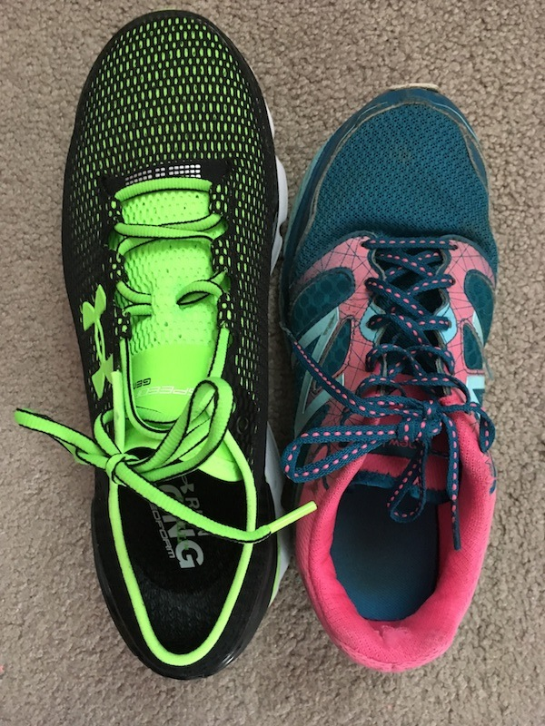 There are several differences between men's and women's shoes.