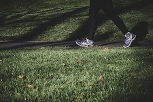Proper athletic shoes can help you avoid foot problems