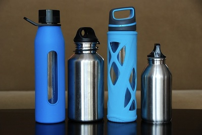 Reusable water bottles make great gifts for fitness buffs