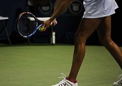 Tennis shoes provide more lateral cushioning and stability than other shoes.