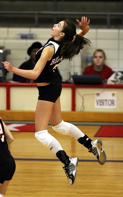 Volleyball shoes have more shock-absorption materials in the mid-sole.